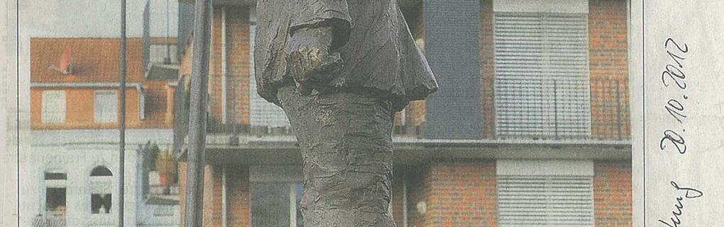 Bronzeskulptur Hartmut-Wiesner