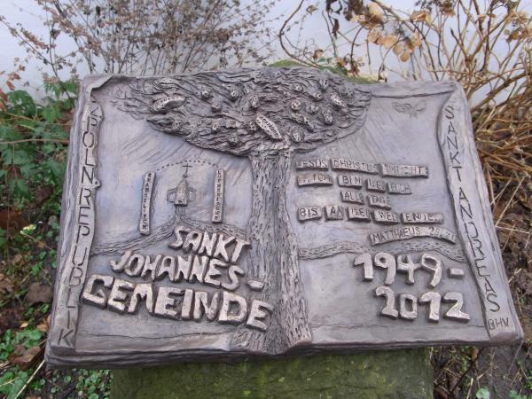 Johannes Behrens, Schrifttafeln aus Bronze