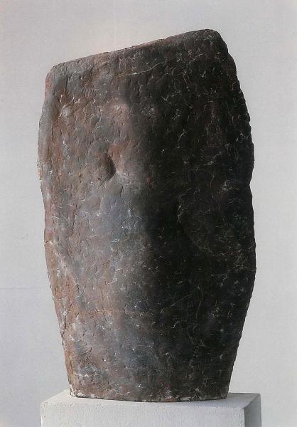 Bronzeskulptur, Thomas Kaufhold, Berlin, Bronzeplastik Gusshautpatina