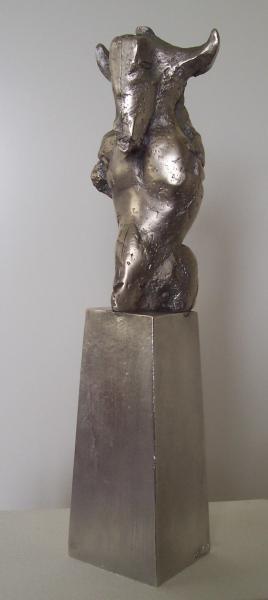 Bärbel Dieckmann; Bronze versilbert
