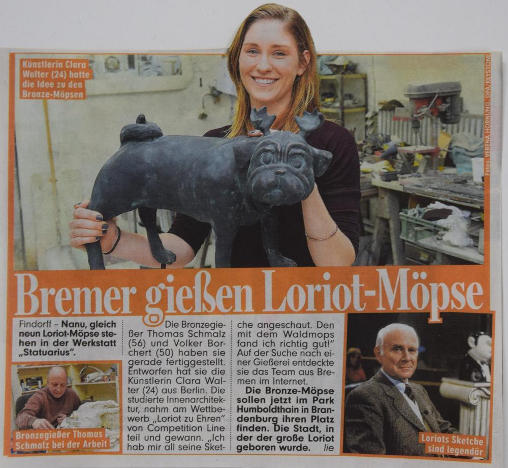 Bildzeitung Bremen, 31.3. 2015